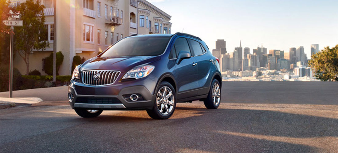 2014 - 2013 Buick SUVs and Crossovers Buick Enclave Buick Encore
