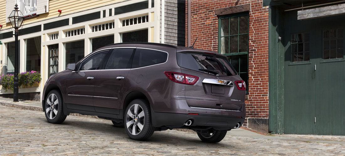 2014 2013 New Chevrolet Suv And Crossover Photos