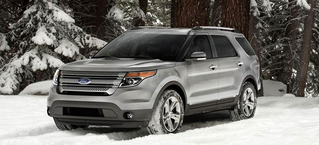 New Ford Explorer >> 2014 - 2013 FORD - New SUV and Crossover Photos